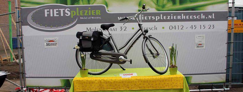 Door Michel van de Wetering gesponsorde fiets