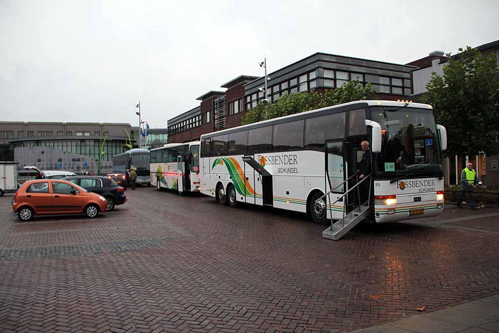 Bussen bij de Pas
