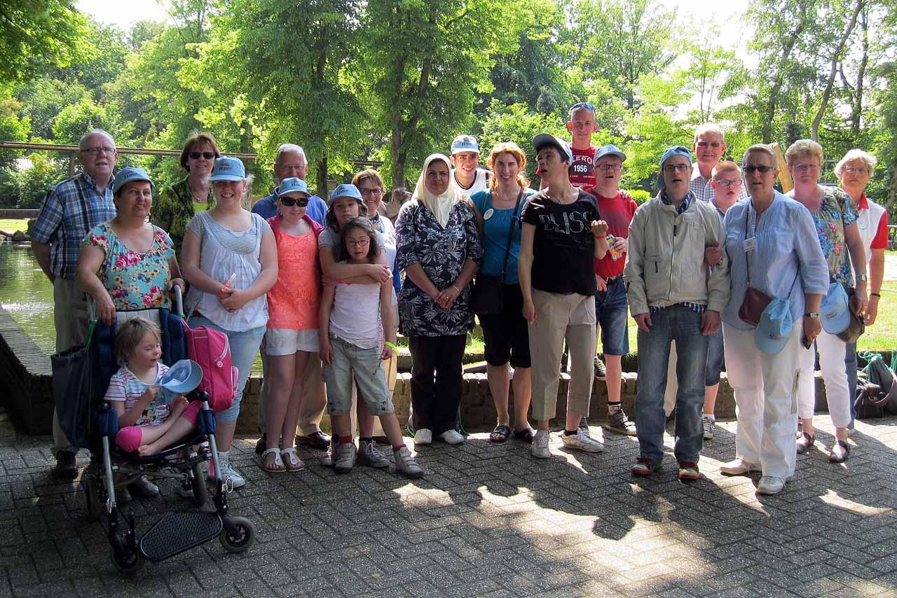 Groepsfoto Ouwehands dierenpark