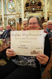 Diploma orgeldraaien